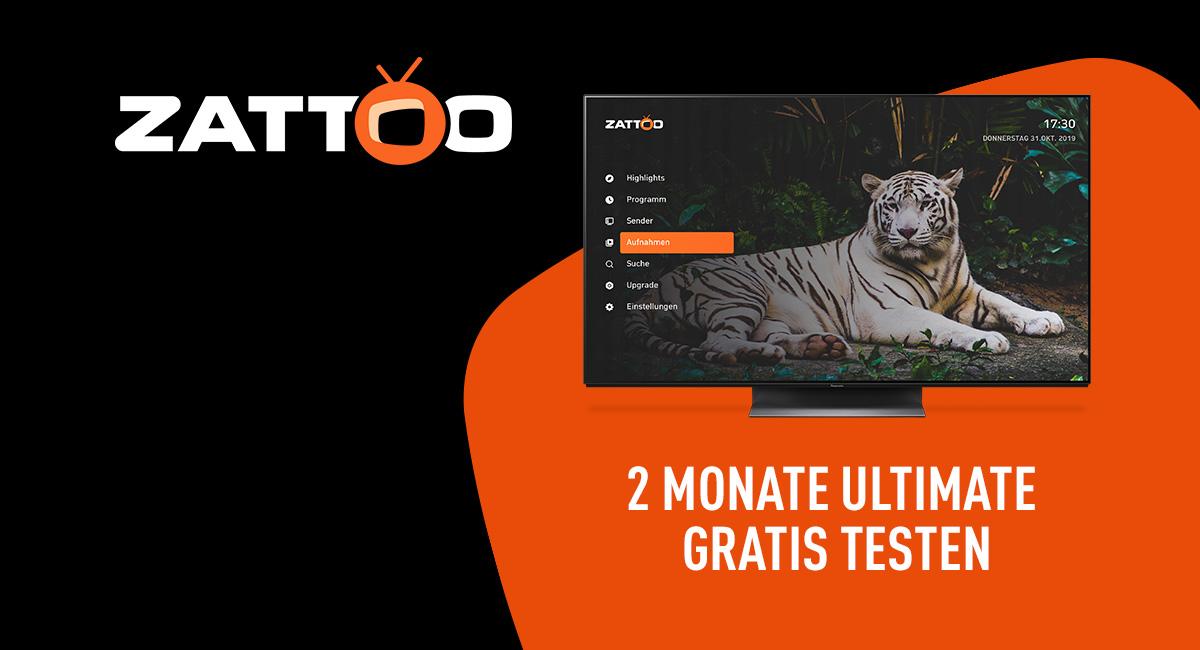 Zattoo App verfügbar auf diesem Panasonic TV