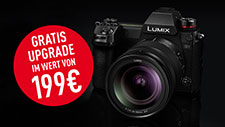 LUMIX S1 AKTION: GRATIS SOFTWARE UPGRADE