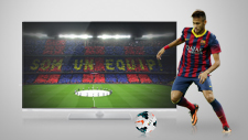 Panasonic VIERA er FC Barcelonas officielle tv
