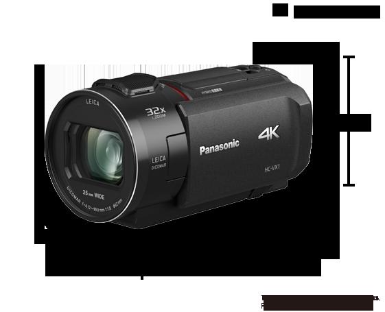 Videocámara Ultra HD 4K HC-VX1