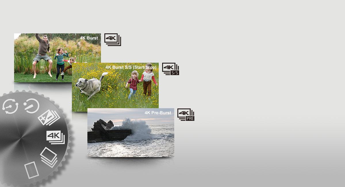 4K fényképezési módok – a szabadon szárnyaló kreativitásért