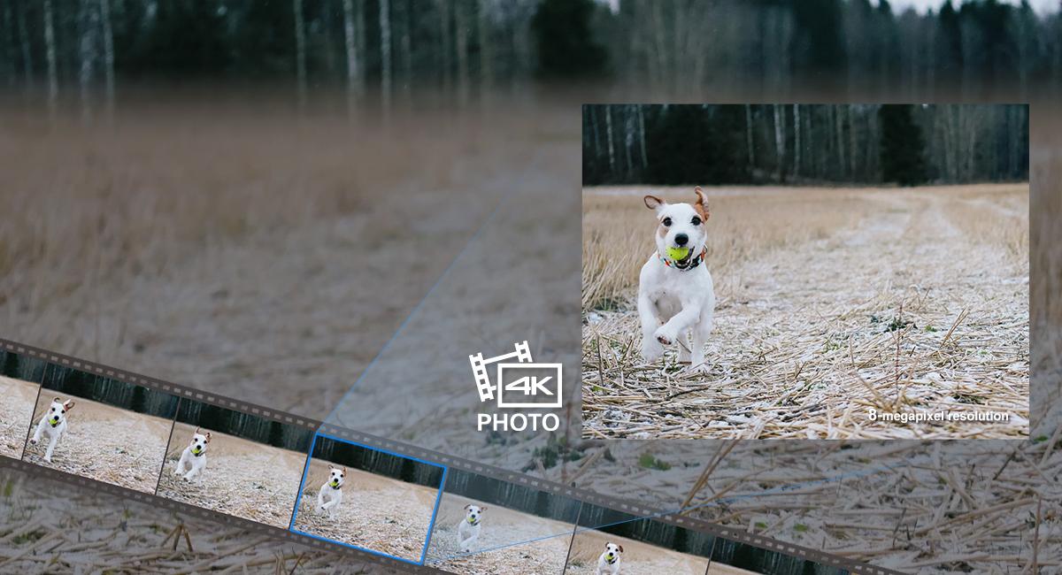 Bámulatos 30 kép/s-os 4K videókat rögzíthet