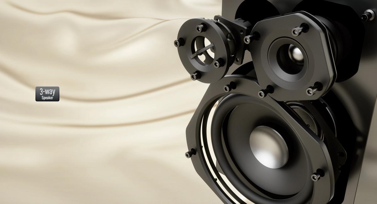 Reproduktory pro každý zvuk