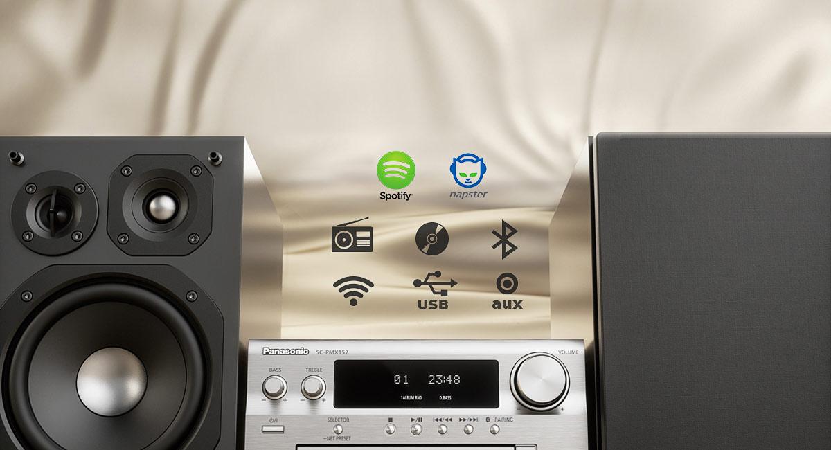 Vaše hudba z jednoho zařízení