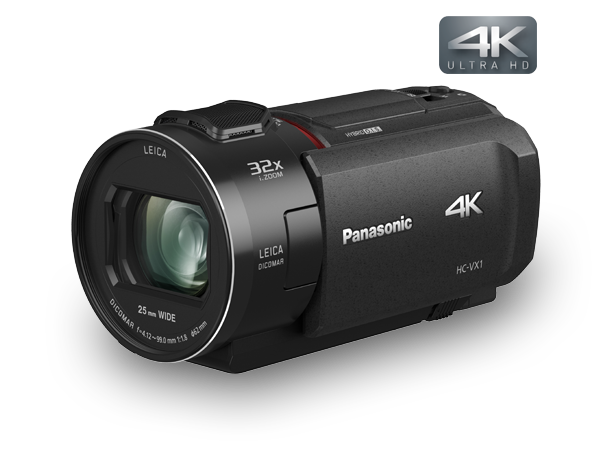 Photo of 4k Handheld Camcorder with Zoom Lens | HC-VX1