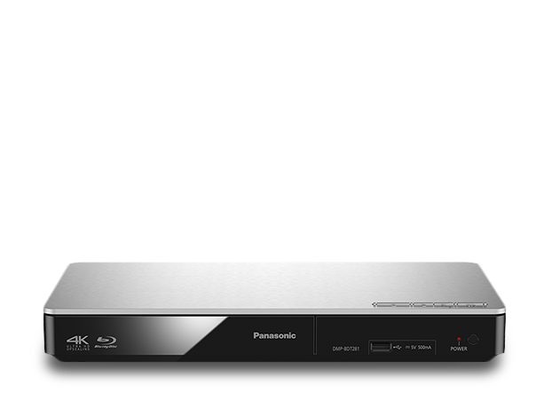 Foto von Smart Network 3D Blu-ray Disc™/DVD-Player DMP-BDT281