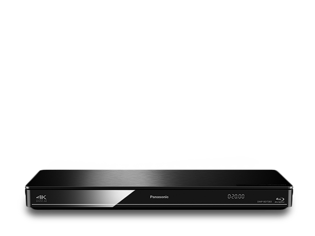 Foto av DMP-BDT383 Smart Network 3D Blu-ray Disc™/ DVD-spiller