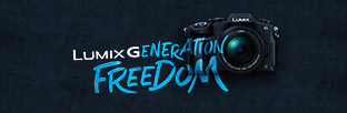 LUMIX G CAMERA'S. GENERATION FREEDOM