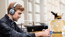 Enjoy the freedom with Panasonic Bluetooth headphones