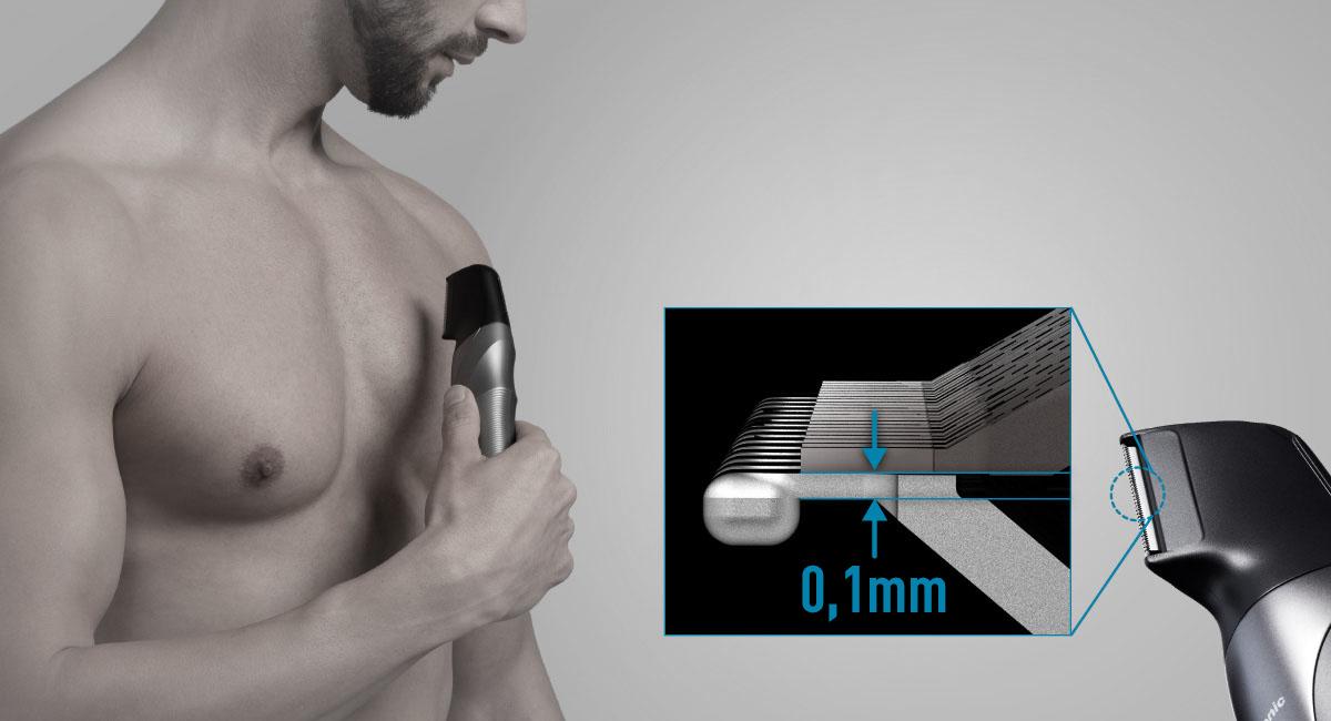 Szupervékony penge a sima, de kíméletes borotváláshoz