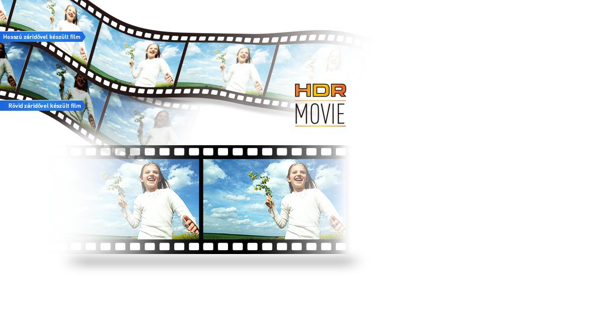 HDR (nagy dinamikatartományú) filmfelvétel