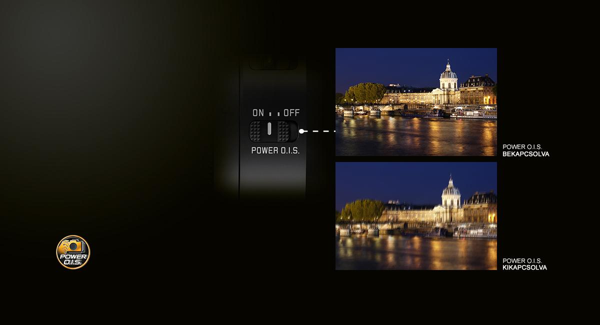 POWER O.I.S. – tű éles fotók