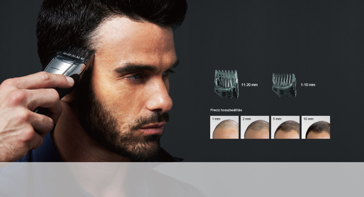 Fésűadapter hajvágáshoz