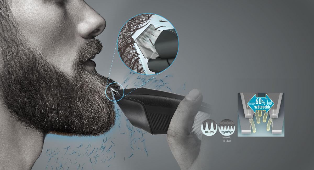Finom szakállnyírás, akár a borbélynál