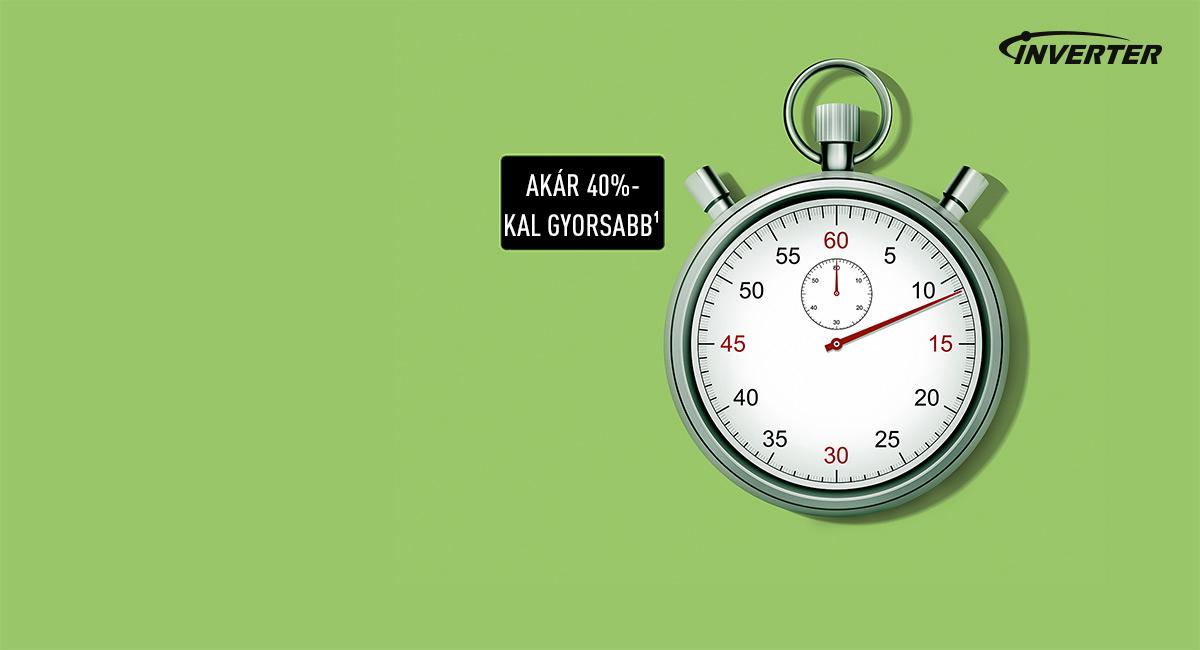 Idő- és energiatakarékos