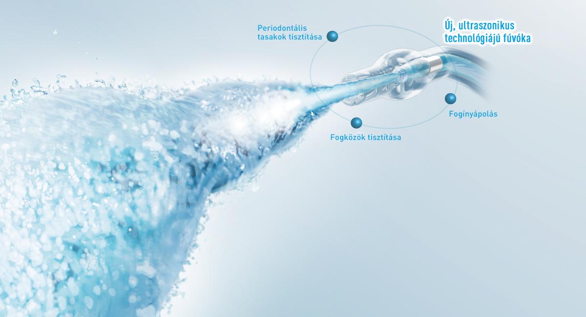 Az ultraszonikus technológiájú vízsugár 3 előnye