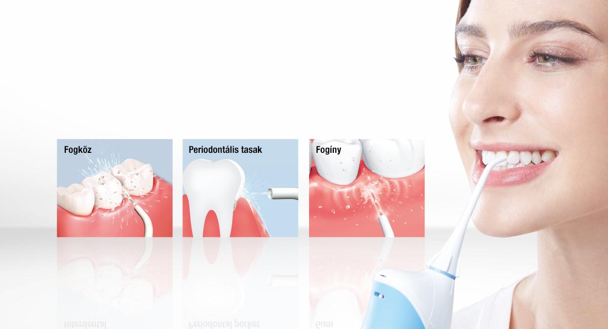 Korszerű háromszoros szájápolás