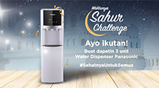 Panasonic Water Dispenser: #SahurSehatChallenge
