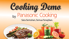 Cooking Demo by Panasonic Cooking Indonesia