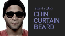 Chin Curtain Beard