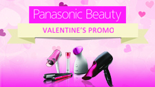 Panasonic Beauty, Valentine's Promo