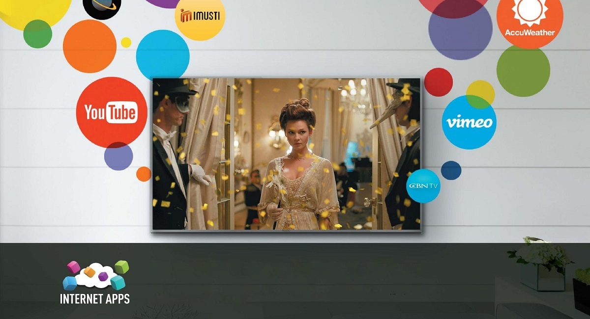 Use a wide variety of apps on your large TV screen
