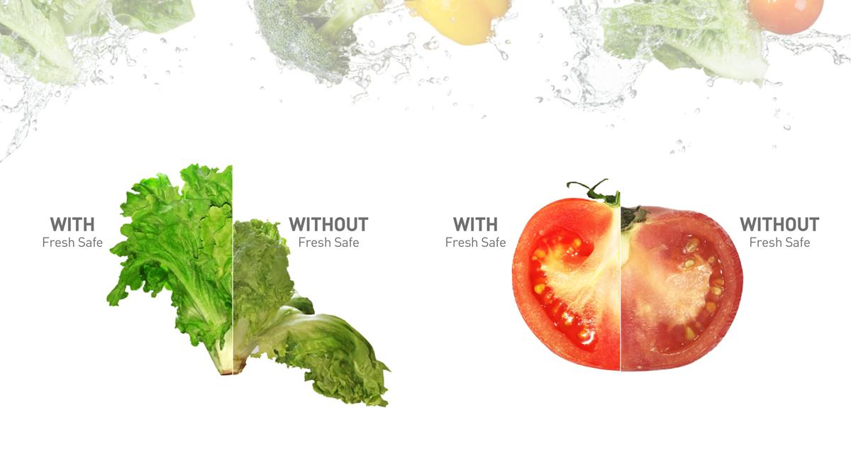 Fresh, crisp vegetables