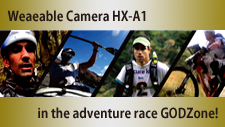 Wearable Camera HX-A1 @ Adventure Race