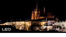 Panasonic LED Lights - Change Lights at Prague Castle