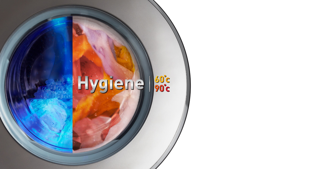 Double Hygiene with Cold / Hot Wash