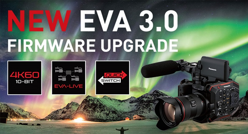 Panasonic Announces Firmware Upgrade For 5.7K Compact Cinema Camera EVA1