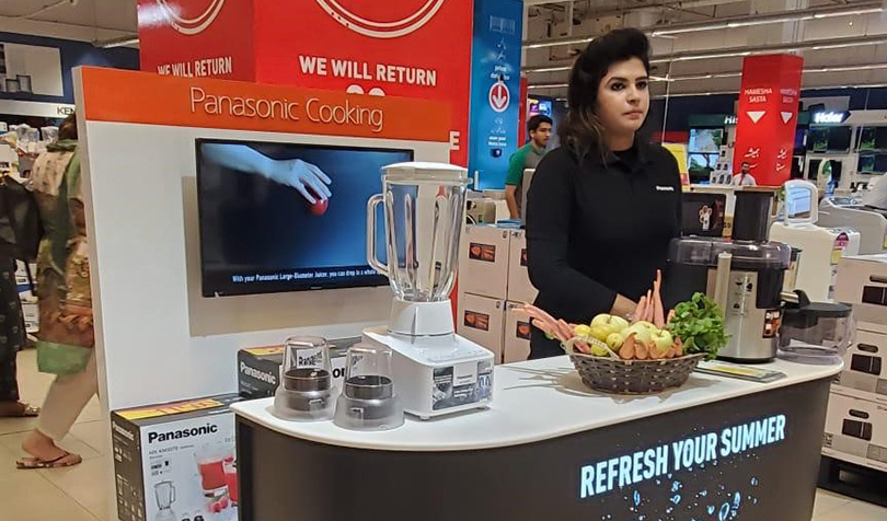 Panasonic showcases premium kitchen appliances through series of in-store activations across Pakistan