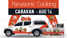 Panasonic Cooking Caravan - August 2014