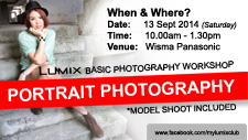 LUMIX Basic Portrait Photography Workshop