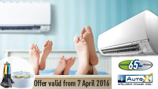 Air Conditioner Promotion: Apr 2016