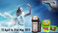 Air Conditioner Promotion Apr/May 2015