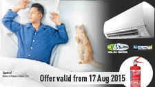Air Conditioner Promotion August 2015