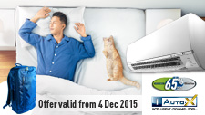 Air Conditioner Promotion: Dec 2015