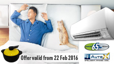 Air Conditioner Promotion: Feb 2016