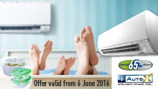 Air Conditioner Promotion: June 2016
