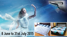 Air Conditioner Promotion June/July 2015
