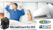 Air Conditioner Promotion: Oct 2015