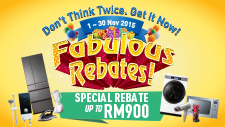 Fabulous Rebates!