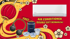 Air Conditioner Double Gift Bonanza