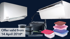 Aircond Promotion: April 2018