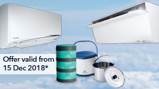 Aircond Promotion: December 2018