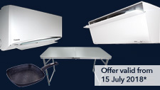 Aircond Promotion: July 2018