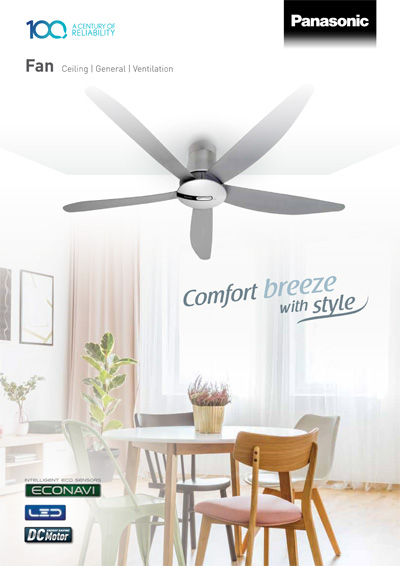 Ceiling/Ventilation Fan Catalog - Panasonic Malaysia