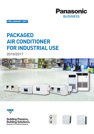 Packaged Air-Conditioner For Industrial Use Catalog - Panasonic Malaysia