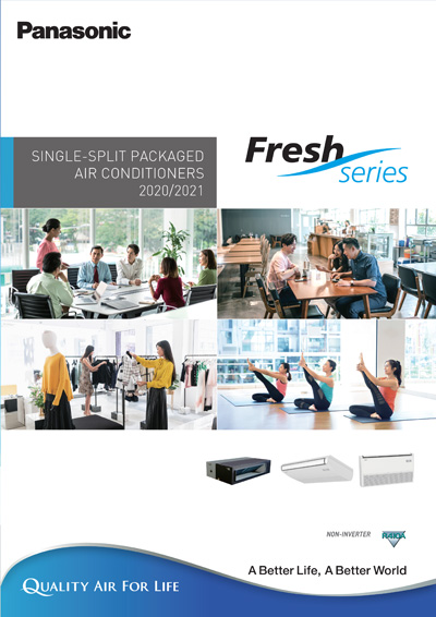 single split packaged air conditioner Non-Inverter 2020 R410 Catalog - Panasonic Malaysia